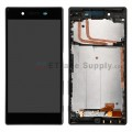 Sony Xperia Z5 LCD and Touch Screen Assembly with frame[Black]